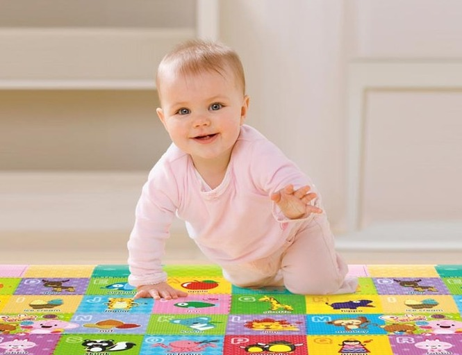 Мягкие и теплые игровые коврики пазлы для детей